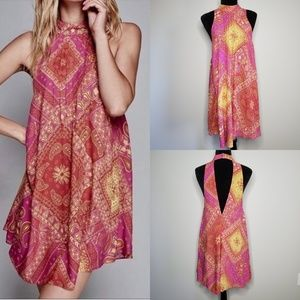 Free People Paisley Flowy Printed Paisley Dress